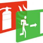 Logo feu _evac